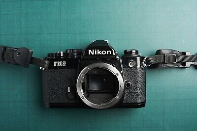 Nikon FM2 35mm SLR Film Camera Body Only - in black - working perfectly.