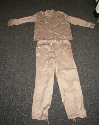 OIF Iraqi tan NOS tunic and pants set still sealed in plastic bag still