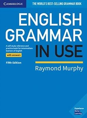 English Grammar in Use Book with Answers by Raymond Murphy Cheap Book