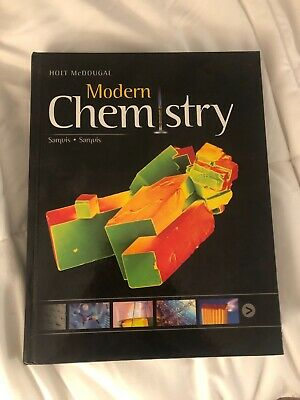 Modern Chemistry Textbook, Holt McDougal, Brand New, Never Been Used