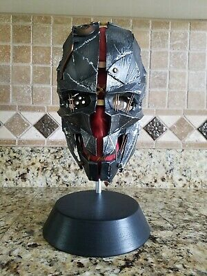 Dishonored 2 Collectors Edition Mask and Stand.  Excellent condition.