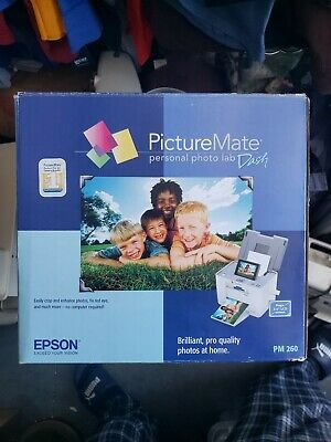Epson picture mate personal photo lab Dash