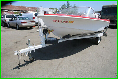 (C) Cutter 15' Runabout Boat and Tow Trailer NO RESERVE