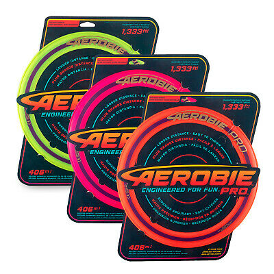 "Aerobie Pro 13"" Flying Ring (Various Colours) FREE DELIVERY - BRAND NEW"
