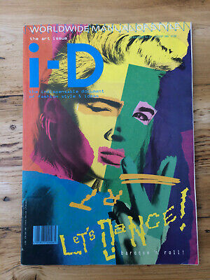 i-D Magazine Issue No. 28, August 1985, The Art Issue