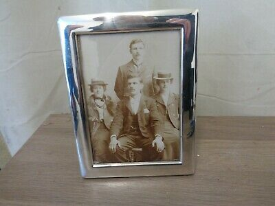 Large silver picture frame