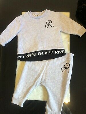 Baby Boys River Island Outfit 3-6 Months