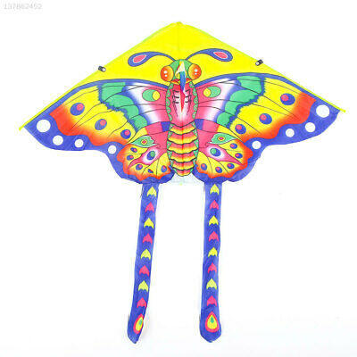 77CE Fashion Triangle Multicolor Good Weather Empty Spaces Kids Butterfly Kite
