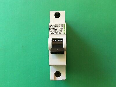FAZN-C6 Moeller circuit breaker 1 pc