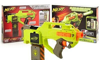 Yellow Nerf Rayven Fire *limited Edition*