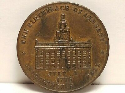 Token, Independence Hall, &.Linge & Bros. Watches & Jewelry 304 S. 2nd St. Phila