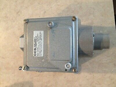 Ccs Dual-Snap 604Pam21 Pressure Switch New Open Box
