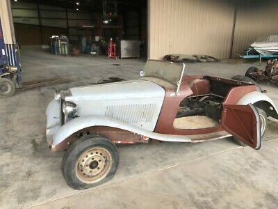 1952 MG T-Series  upercharged 1952 MG TD MGTD MT-Series  Partially Disassembled, Very Solid