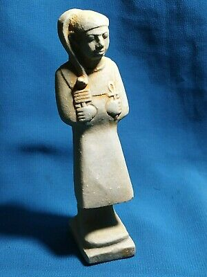 Pharaonic amulets are very rare of the ancient Egypt civilization.2