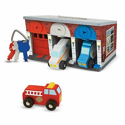 Melissa & Doug Keys & Cars Rescue Garage Multi-color