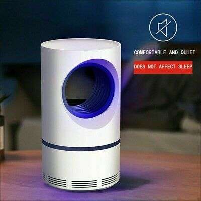 Led Mosquito Killer Lamp UV Night Light USB Insect Killer Bug Zapper