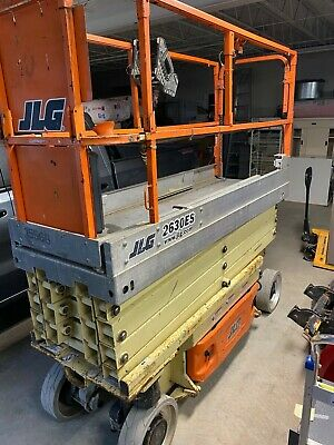 2011 JLG 2630ES scissor lift used in very good condition