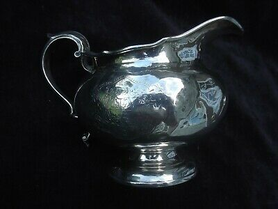 1825 lovely Georgian Scottish jug with nice Armorial and motto