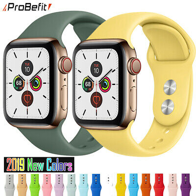 All Soft Silicone Sports Band for Apple Watch & Rubber Watchband Straps