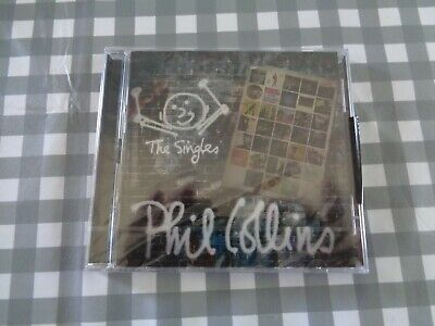 PHIL COLLINS THE SINGLES 2 CD SET (Greatest Hits) (14/10/2016)new/sealed
