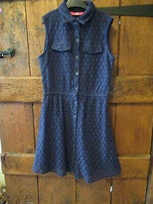 YD Girls Navy Blue Dress