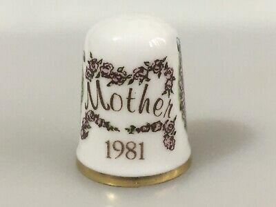 CAVERSWALL Thimble Mother 1981