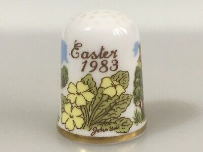 CAVERSWALL Thimble Easter 1983