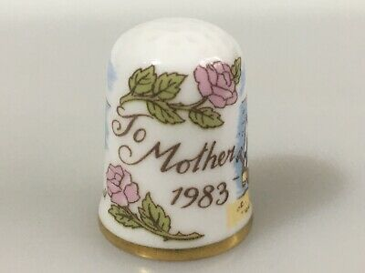 CAVERSWALL Thimble Mother 1983