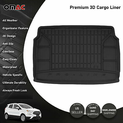 OMAC Premium Cargo Trunk Liner Black fits Ford Ecosport 2018-2020