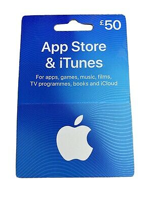 App Store And iTunes £50 Voucher