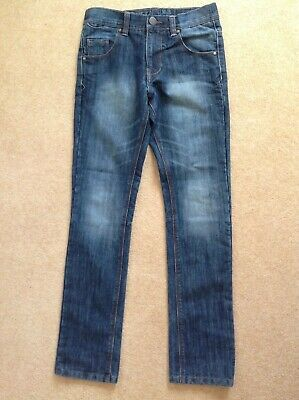 New NEXT premium grade superior quality No3 dark denim jeans age 12 height 152cm