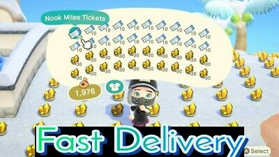 ✅ONLINE✅🔥12 Million Bells and 400 Nook Miles Tickets🔥For ACNH