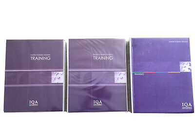 Chartered Quality Institute IQA Training Programmes (see description)