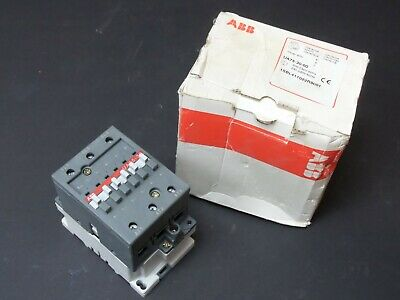 new ABB UA75-30-00 Kontakt Schütz New old Stock