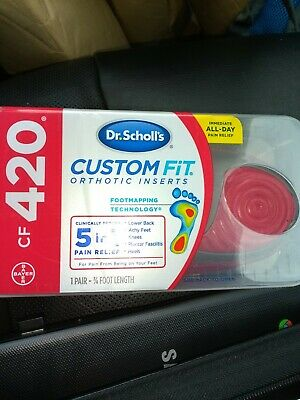 Dr. Scholl's CF420 Custom Fit Orthotic Inserts Dr.Scholl's Dr Scholls CF 420