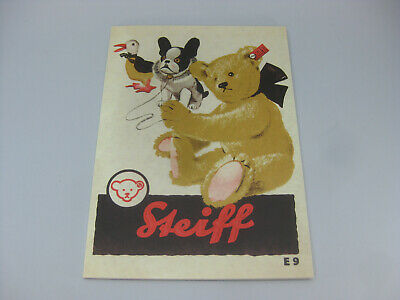 Reprint STEIFF CATALOG E9 1929 in English Sortiment 48pages englischer Nachdruck