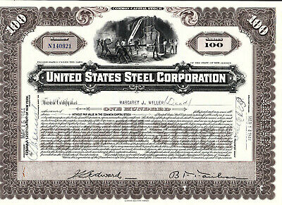 United States Steel Corporation-shares-1944