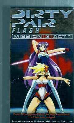 Dirty Pair Flash: Mission 3 Act 1 - English Subbed Anime OVA ~ VHS