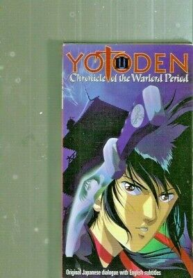 Yotoden: Chronical of the Warlord Period Vol 3 - English Subbed Anime OVA ~ VHS