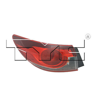 Tail Light Assembly Left TYC 11-6580-00 fits 2014 Mazda 6