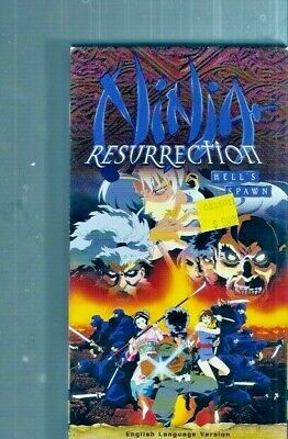 Ninja Resurrection: Hell's Spawn - English Dubbed Anime - Promotional Copy ~ VHS