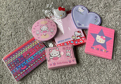 LOT NEW Hello Kitty Sanrio Notepads Ballerina Stationary Paper