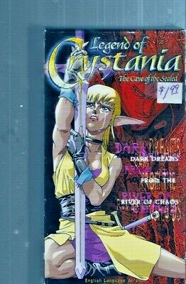 Legend of Crystania: Cave of the Sealed - English Dubbed Anime Sample Copy ~ VHS