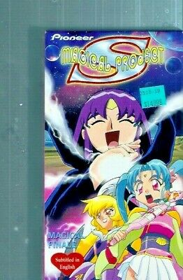 Magical Project S Volume 7: Magical Finale - English Dubbed Anime ~ VHS