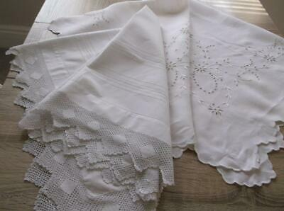 Vintage Tablecloths~Pretty not quite perfect~