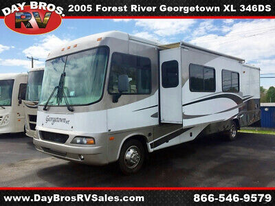 05 Forest River Georgetown XL 346DS Class A RV Gas Motorhome Camper Coach Ford