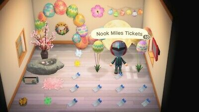 100 NOOK MILE TICKETS NMT (Animal Crossing New Horizons ) + items in photo