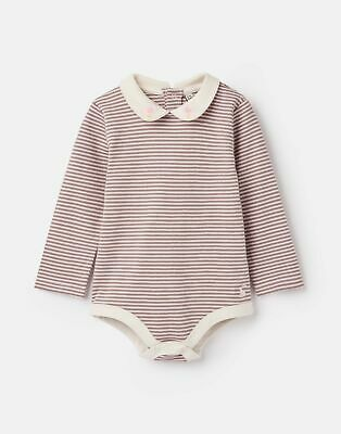 Joules Baby Girls Snazzy Luxe Bodysuit - PINK BROWN CHICKEN Size 6m-9m