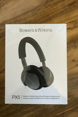 New - Bowers & Wilkins PX5 Over-ear Wireless Bluetooth Headphones - Space Grey