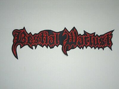 Bestial Warlust Embroidered Back Patch